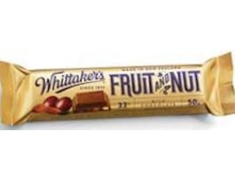 WHITTAKERS FRUIT & NUT CHUNKS 50G