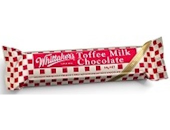 WHITTAKERS TOFFEE MILK CHUNKS 50G