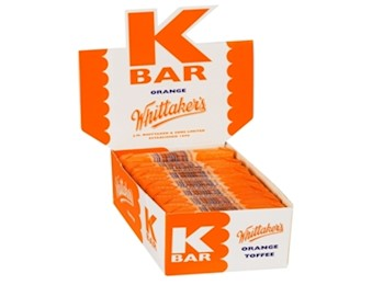 WHITTAKERS ORANGE K-BARS 24G