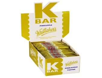 WHITTAKERS PINEAPPLE K-BARS 24G