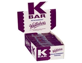 WHITTAKERS BLACKBERRY K-BARS 24G