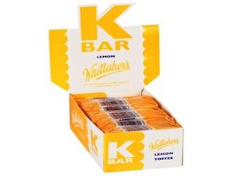WHITTAKERS LEMON K-BARS 24G