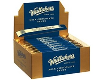 WHITTAKERS MILK SANTE WRAPPED 25G