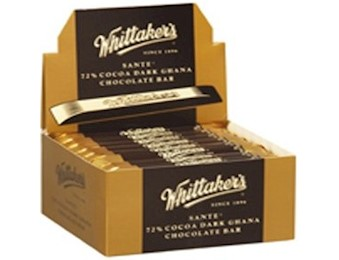 WHITTAKERS WRAPPED DARK GHANA SANTE 25G