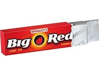 BIG RED 5 STICK GUM 5 STK