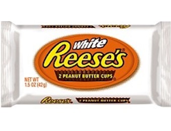 REECE'S WHITE P BUTTER CUPS 42G