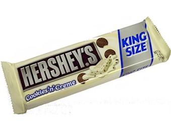 HERSHEY'S COOKIES & CRM K/SIZE 73G