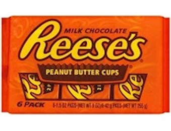 REESE'S PEANUT BUTTER CUP 6PK