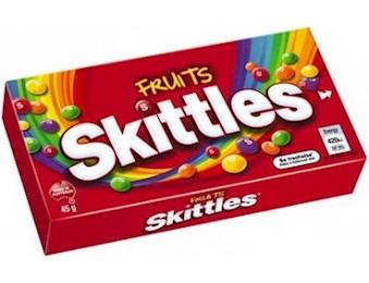 SKITTLES FRUIT BOX 45G