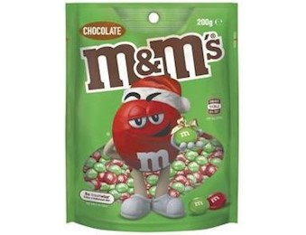M&M RED&GREEN Chocolate 200G