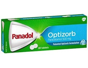 PANADOL OPTIZORB TABS 500MG 12