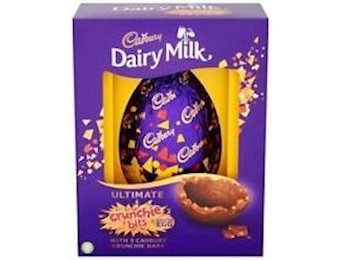 CADBURY CRUNCHIE EGG GIFT 184G