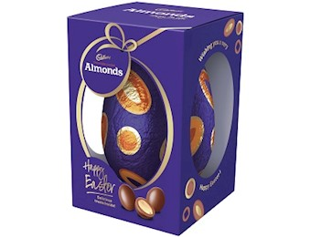 CADBURY SCORCHED ALMONDS EGG 400G