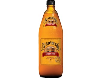 BUNDABERG GINGERBEER 750ML