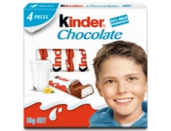 KINDER Chocolate LITTLE ONES T4 50G