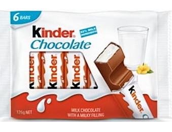 KINDER Chocolate T6 126G