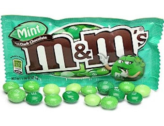 M&M MINT DARK Chocolate 42.5g