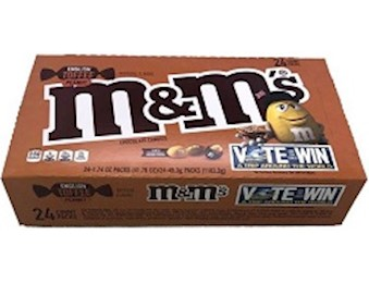 M&M ENG TOFFEE PEANUT 49.3G