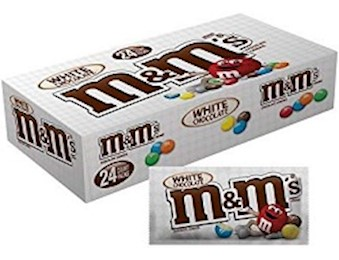 M&M WHITE Chocolate 38.6G