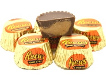 REESE''S MINI PEANUT BUTTER CUPS 8G