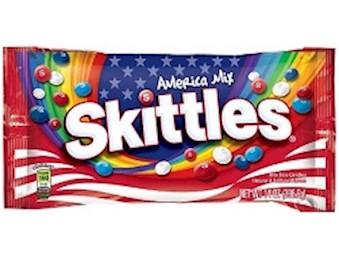 SKITTLES AMERICA MIX 56.7G