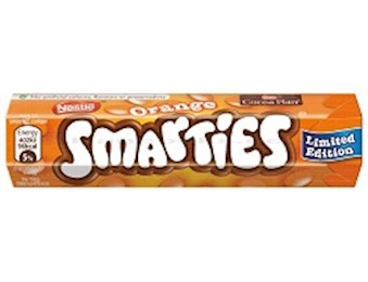 NESTLE SMARTIES ORANGE 38G