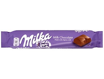 MILKA ALPINE MILK CHOCOLATE 45G