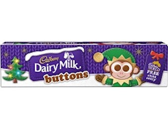 CADBURY DM BUTTONS TUBE 72G