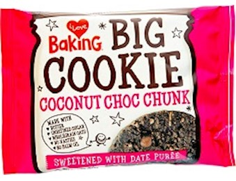 ILB COCONUT Chocolate BIG VEG COOKIE 50G