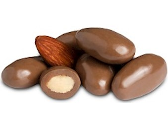 NOW Chocolate ALMONDS