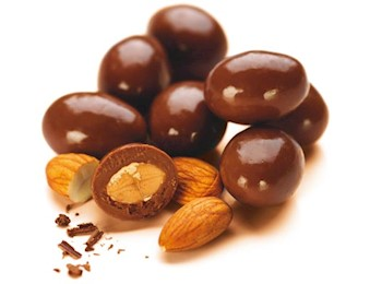 NOW RICS Chocolate ALMONDS
