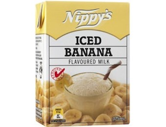 NIPPY'S BANANA FLV MILK 375ML