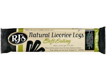 RJ NATURAL LICORICE LOG 3 PK