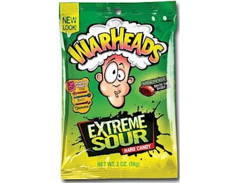 WARHEADS EXT HARD CANDY 56G