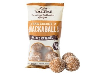 TOM & LUKE SALTED CARAMEL Snack Balls 70G