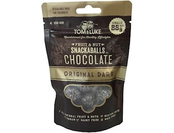 TOM & LUKE DARK ORIG Chocolate Snack Balls 88G