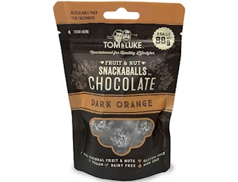 TOM & LUKE DARK ORANGE Chocolate Snack Balls 88G