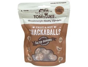 TOM & LUKE SALTED CARAMEL Snack Balls 140G