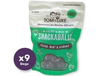 TOM & LUKE CACAO MINT& ALMOND Snack Balls 140G