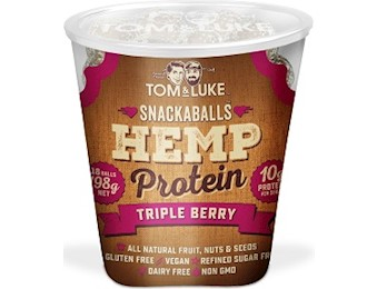 TOM & LUKE HEMP TRIPLE BERRY Snack Balls 198G