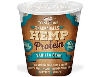 TOM & LUKE HEMP VANILLA BEAN Snack Balls 198G