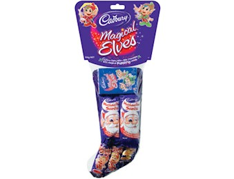 CADBURY MAGICAL ELVES STOCKING 106G