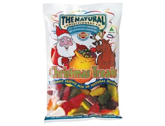 The Natural Confectionery Co  CHRISTMAS TREATS 700G