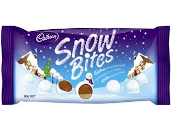 CADBURY SNOW BITES 60G