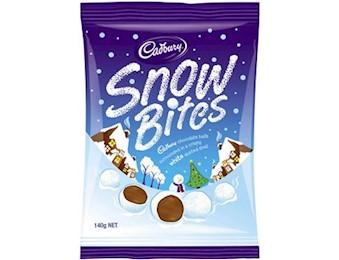 CADBURY SNOW BITES 140G